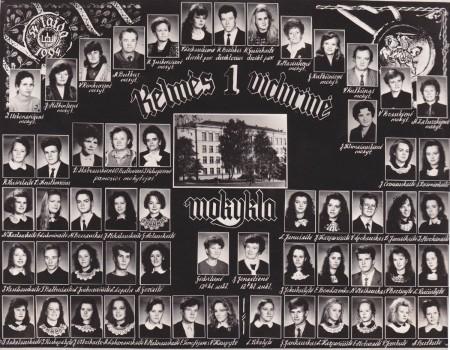 54 laida 1994 metai