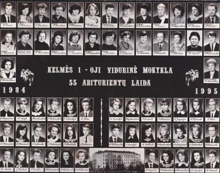 55 metai 1995 metai