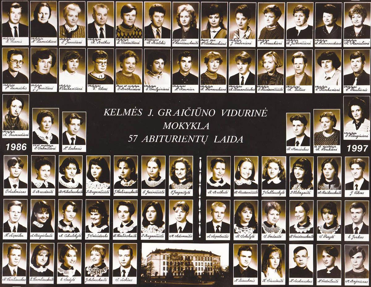 57 laida 1997 metai
